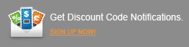 Get Discount Code Notifications